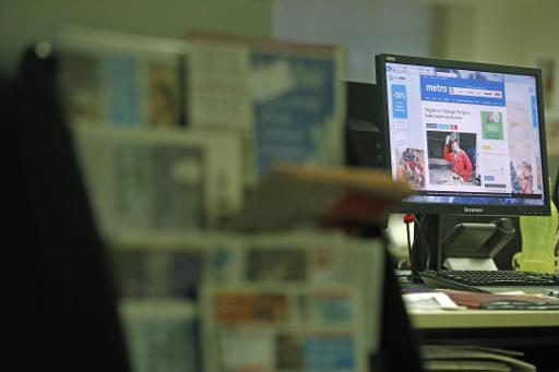 Le quotidien gratuit Metro change de format à partir du 3 janvier