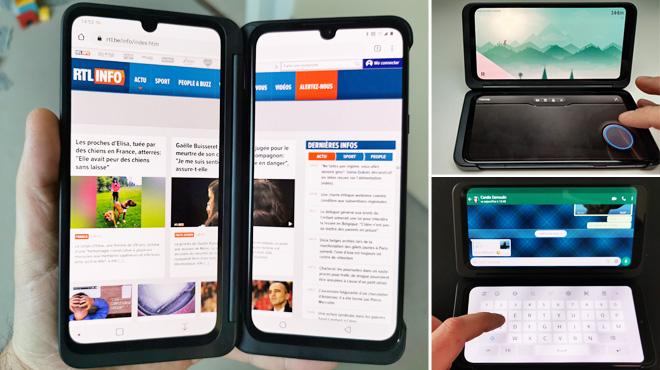 Les tests de Mathieu: LG sort le premier smartphone avec deux (ou trois) écrans en Belgique, mais le G8X est-il pour vous ?