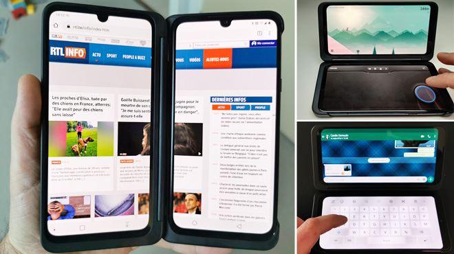 Les tests de Mathieu- LG sort le premier smartphone avec deux (ou trois) écrans en Belgique, mais le G8X est-il pour vous ?