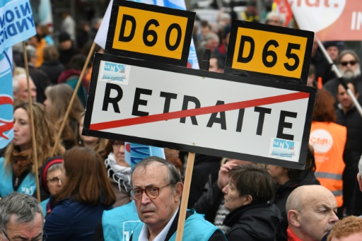 Mobilisation contre les retraites: 245 rassemblements et manifestations déclarés en France