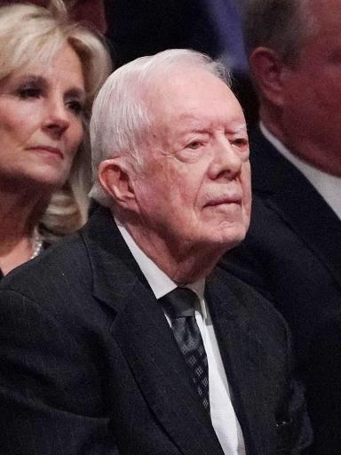L'ex-président américain Jimmy Carter sorti de l'hôpital
