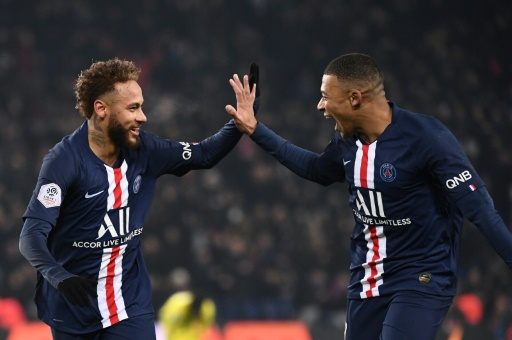 L1: Mbappé et Neymar, en mode diesel, réchauffent le PSG contre Nantes