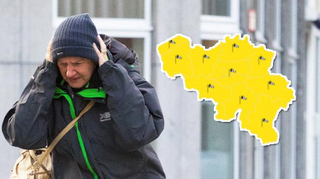 Météo- le vent s'abat sur la Belgique 1
