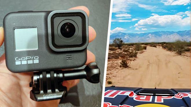 Les tests de Mathieu- GoPro est de retour avec une 8e caméra d'action qui stabilise l'impossible