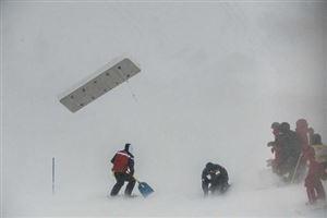 Le slalom messieurs de Val d'Isère annulé à cause du vent, reprogrammé dimanche