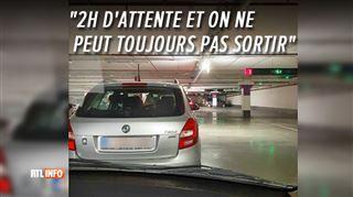 Liège- des clients signalent d'importantes difficultés pour sortir de la Médiacité ce samedi soir
