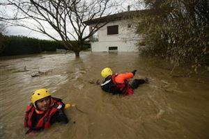Intempéries - France: deux morts dans le sud-ouest