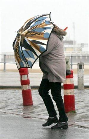 Intempéries - Alerte jaune aux rafales de vent sur l'ensemble de la Belgique