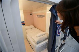 A Milan, nouvelle cité touristique, on peut aussi dormir dans des capsules