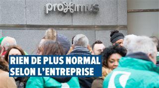 Frédéric en colère contre la restructuration Proximus- pourquoi seuls les salariés, et pas les Indiens en sous-traitance, sont-ils touchés ?