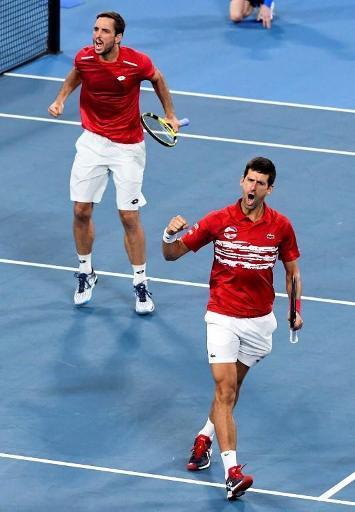 ATP Cup: la Serbie titrée grâce à la victoire du double Djokovic/Troicki
