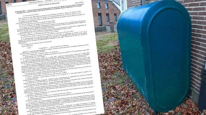 Même les petites citernes à mazout bientôt contrôlées en Wallonie- que devrez-vous faire si votre citerne n'est pas aux normes?