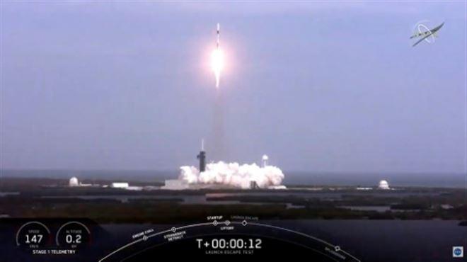 SpaceX fait exploser une fusée en plein vol- Elon Musk vante un test très réussi (vidéo)