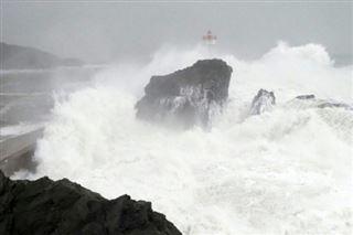 Tempête Gloria- l'eau monte dans les Pyrénées-Orientales et l'Aude