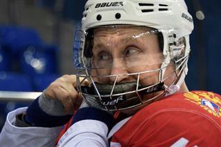 Le hockey très politique de Vladimir Poutine