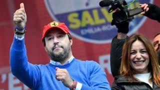 Italie- Salvini lorgne sur le pouvoir avant les élections en Emilie-Romagne