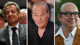 Il roule un pet' et se met à fumer- ce dîner SURRÉALISTE avec Nicolas Sarkozy, Laurent Baffie et Karl Zéro 5