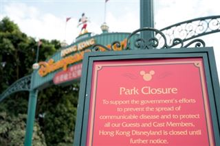 Virus chinois- le parc Disneyland à Hong Kong annonce sa fermeture
