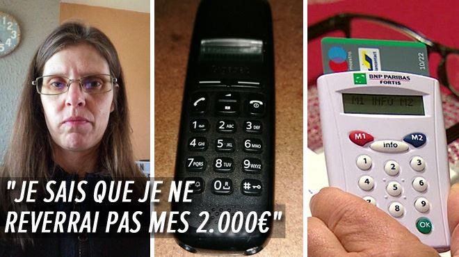 L'arnaque téléphonique à la Commission Européenne a frappé Sylvie, elle a perdu 2.000 euros à Thuin- C'était l'héritage de mon frère