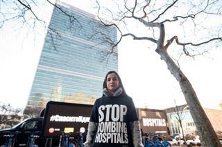 Honte à l'ONU- la cinéaste Waad al-Kateab dénonce les attaques contre les hôpitaux syriens