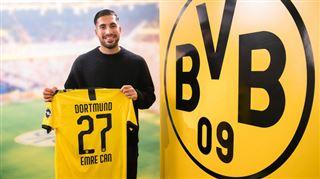 Mercato- après des semaines de négociation, Dortmund tient son nouveau milieu de terrain (vidéo)
