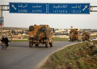 Syrie- combats d'une violence inédite entre soldats turcs et syriens