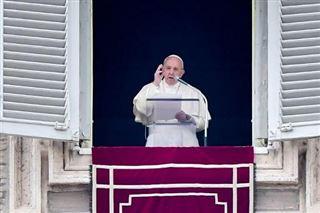 Le pape inquiet pour les personnes en fuite en Syrie