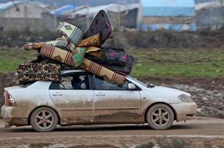 L'offensive du régime contre Idleb a fait plus de 800.000 déplacés depuis décembre