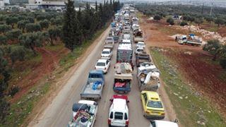 Assaut du régime syrien à Idleb- plus de 800.000 déplacés depuis décembre