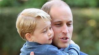 L'exercice SURPRENANT du prince William pour l'arrivée de George