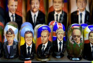 Après 20 ans au pouvoir, Poutine incontournable sur les stands touristiques