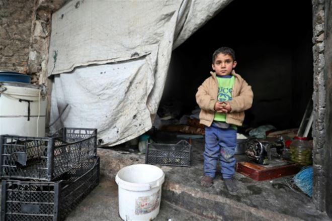 En Syrie, des enfants traumatisés par la guerre et ballottés par l'exil