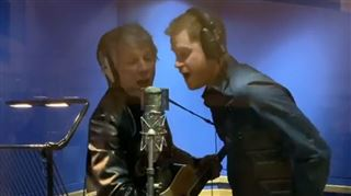 Le prince Harry en studio- il enregistre une chanson avec Jon Bon Jovi