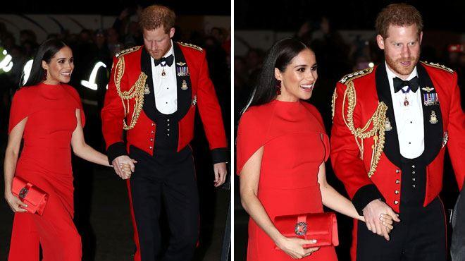 Meghan et Harry acclamés par le public au Royal Albert Hall samedi soir (vidéo)