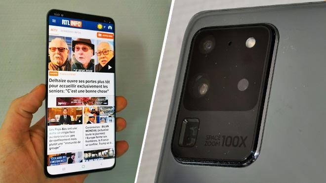Les tests de Mathieu- un mois avec le gigantesque Samsung Galaxy S20 Ultra, est-il le roi d'Android ?