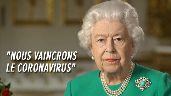 Coronavirus- la reine Elizabeth II s'adresse aux Britanniques dans un discours historique