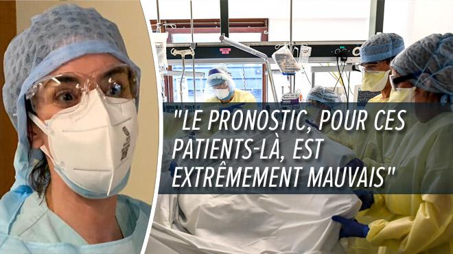 Pourquoi les patients âgés et déjà malades ne sont pas placés en soins intensifs? Une médecin du CHU de Liège répond