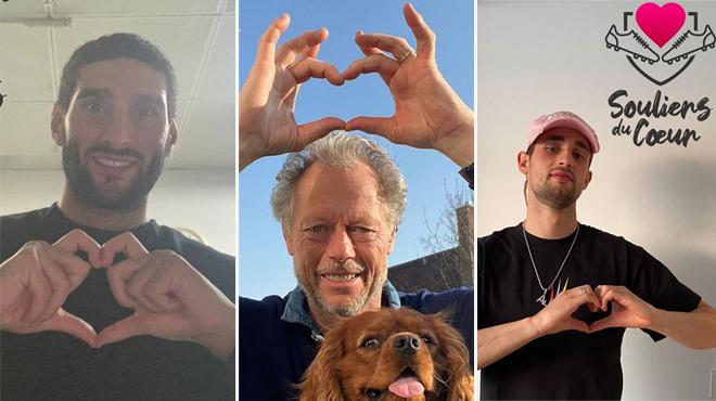 Fellaini, Januzaj, Preud'homme...- les Souliers du Cœur s'unissent pour lutter contre le coronavirus