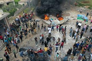 Des Syriens manifestent à Idleb contre le principal groupe jihadiste