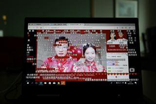 Oui aux temps du virus- les Chinois se marient en ligne