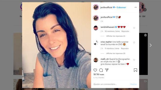 L'adorable message de Jenifer à ses fans - Passionnément! (vidéo)