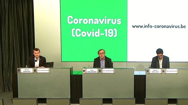 Coronavirus - BILAN BELGE- 27 nouvelles hospitalisations et 32 nouveaux décès