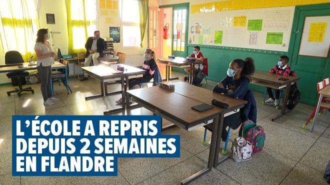 Il ne faut pas une scolarité à deux vitesses- les élèves francophones seront-ils en retard par rapport aux écoliers en Flandre?