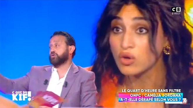 Elle a vendu trois disques dans sa vie!- Cyril Hanouna attaque Camélia Jordana (vidéo)