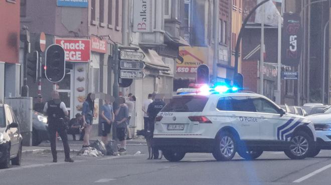 Deux bandes rivales s'affrontent à Marchienne-au-Pont- 50 personnes sur place, la police forcée d'intervenir