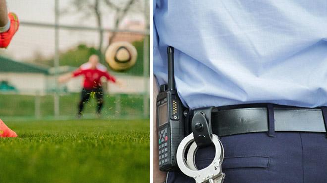 Coronavirus- la police interrompt un match de foot clandestin à Visé où plusieurs joueurs du Standard étaient présents
