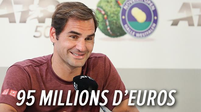 Roger Federer fait de l'ombre aux footballeurs- voici les sportifs les mieux payés au monde