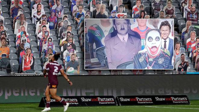 L'énorme boulette d'une télévision australienne- Adolf Hitler apparaît dans les tribunes lors d'un match de rugby (photo)