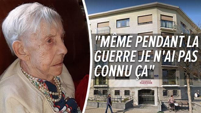 Elle a écrit S.O.S avec son rouge à lèvre sur les fenêtres- Jeanine, 89 ans, souffre du confinement en maison de repos