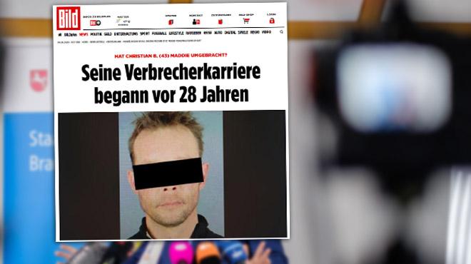 Disparition de Maddie McCann- une première photo du suspect dévoilée par un média allemand